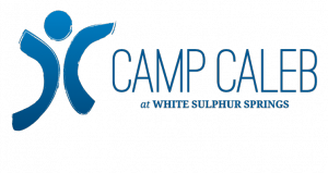 Logo for Camp Caleb, at OCFs White Sulphur Springs