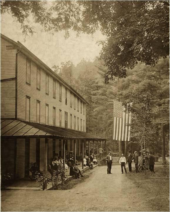 Harrison House, circa 1901